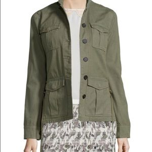 Tory Burch Olive Army Jacket never worn!!!